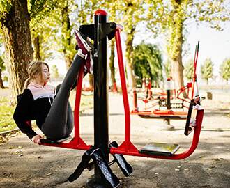 Single Column Outdoor Fitness
