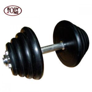 Iron Dumbbell Set G1 19.5Kg Pack With 14 Dumbbell Bar
