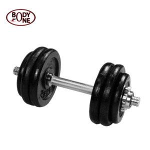 Iron Dumbbell Set G1 9.5Kg Pack With 14 Dumbbell Bar