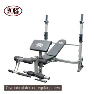 Multi Station Weight Lifting Bench BO 3002 Semi Commercial