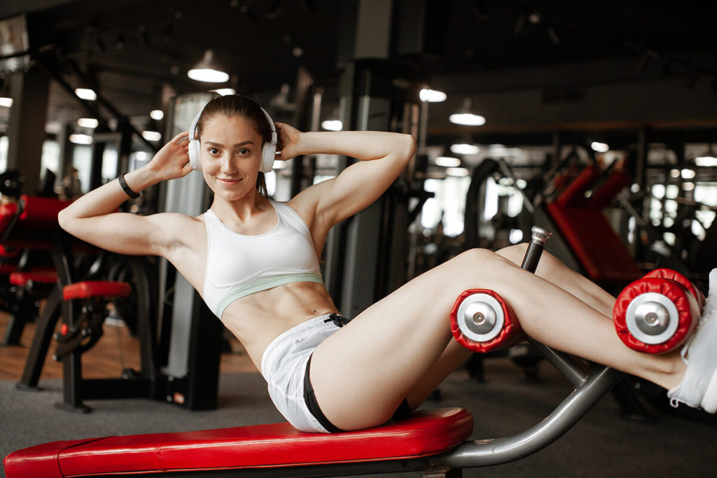 burn belly fat with correct equipment